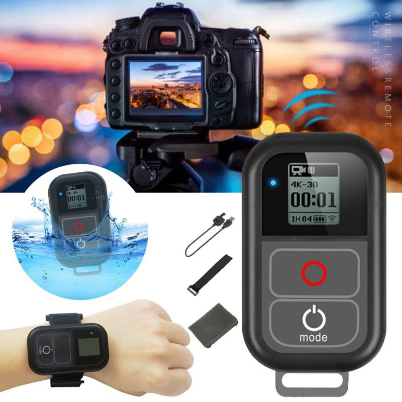 High Quality Waterproof WIFI <font><b>Smart</b></font> <font><b>Remote</b></font> Control For <font><b>Gopro</b></font> <font><b>Hero</b></font> <font><b>6</b></font> <font><b>Hero</b></font> 5 4 3+ 3 / 4 Session 5 Session Camera For <font><b>Gopro</b></font> Hero8 7 image
