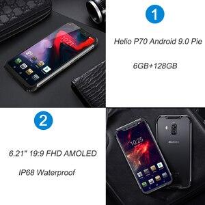 Image 2 - Blackview BV9600 Pro Helio P70 IP68 Waterdichte Mobiele Telefoon 6Gb 128Gb Android 9 Outdoor Robuuste Smartphone 19:9 amoled Mobiel