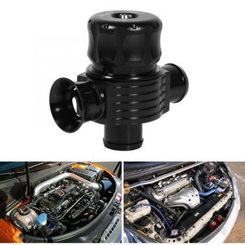 цена на 25mm Car Dual Ports Adjustable Turbo Blow Off Valve Fake Dump BOV Sound Simulator Kit Black Domestic Delivery