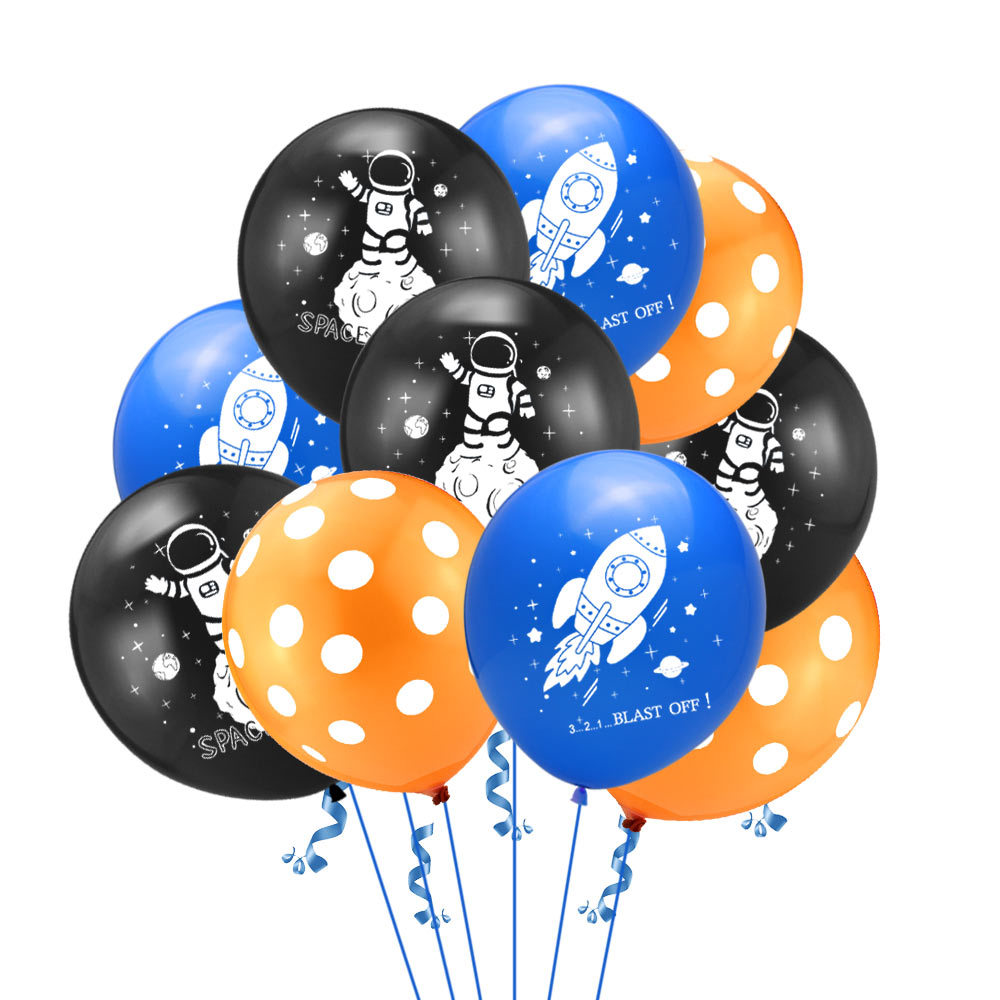 Birthday Rocket  Inflation Spacecraft Foil Balloons Plane Theme Party Supply