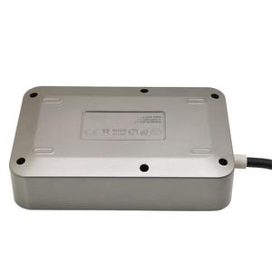 Image 3 - Filtre réseau prise USB bande dalimentation intelligente prise ue avec cordon dextension 2 M protection contre les surtensions large tension pour le bureau à domicile
