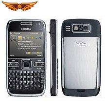 Téléphone portable d'origine Nokia E72 3G Wifi 5MP débloqué remis à neuf pas de clavier hébreu téléphone portable anglais russe arabe clavier