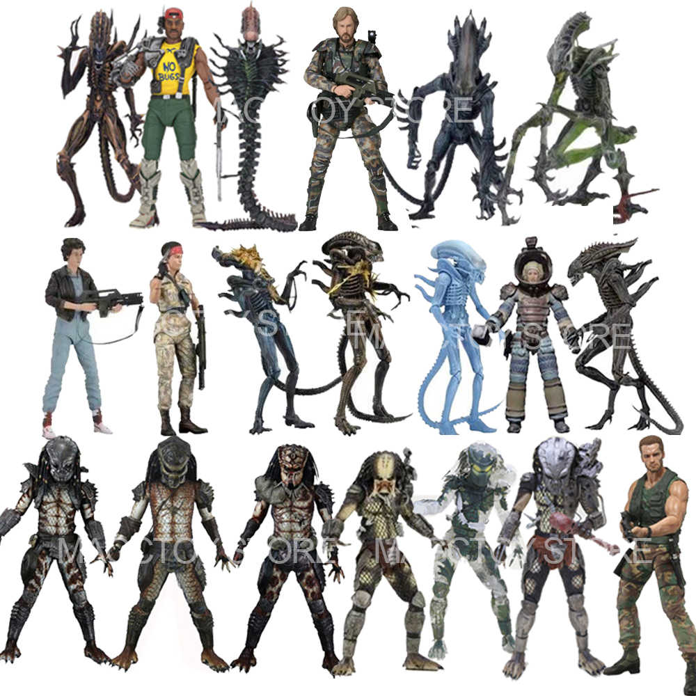 Figurine Alien Scorpion serpent mante gorille xénophe Alien Jungle patrouille Duth serpent traqueur gardien prédateur figurines d'action jouet