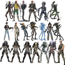 Figura de Alien escorpión serpiente Mantis gorila xenomorfo jungla alienígena patrulla Duth serpiente acosador guardián depredador figuras de acción Juguetes
