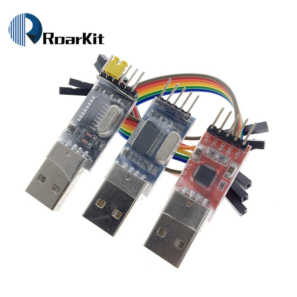 3 шт./компл. = 1 шт. PL2303HX + 1 шт. CP2102 + 1 шт. CH340G USB для TTL для arduino PL2303 CP2102 5PIN USB для TTL модуля UART