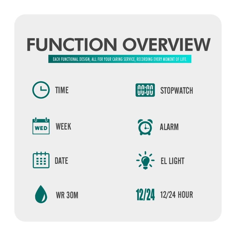 Electronic Waterproof Clock