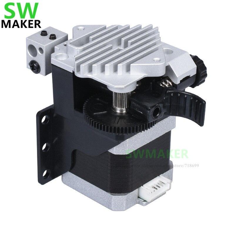 Titan Aero Extruder Kit With Motor + New Type Titan Aero Heat Sink + BR6 Hotend 3:1 Transmission Ratio For 1.75mm TPU 3D Printer