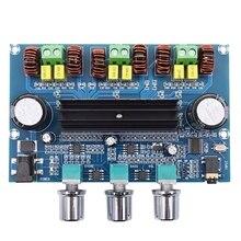 XH A305 High Power Digital Power Amplifier Board TPA3116D2 Bluetooth 5.0 Digital Power Amplifier 2.1 Channel with AUX