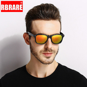 RBRARE Polarized Driving Men's Sunglasses Classic Rice Nail Sun Glasses For Men High Quality Outdoor Lunette Soleil Homme UV400 fashion oversized sunglasses men polarized brand driving sun glasses for man square goggles uv400 lunette de soleil homme d729