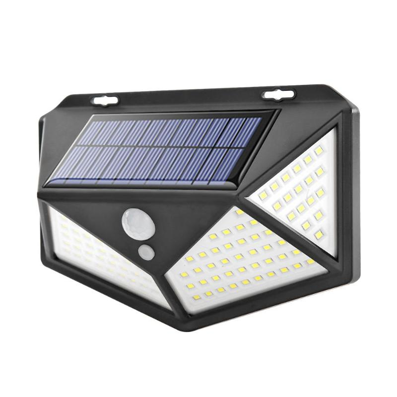 Solar Lights Outdoor,Super-Bright 4 Sides 136 COB LED Solar Powered Motion Sensor Security Lights,270/° Wide Angle Night Lights for Garden Patio Yard Porch Pathway Front Door or Garage
