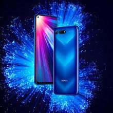 Lager Ehre V20 Ansicht 20 Handy 6,4 inch Bildschirm 4000mAh Batterie Flüssigkeit Kühlung Kirin 980 Android 9.0 Smart telefon NFC