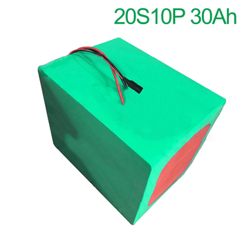 72V 30Ah 20S10P 18650 Li-ion Battery electric two Three wheeled motorcycle bicycle  ebike 210*195*140mm