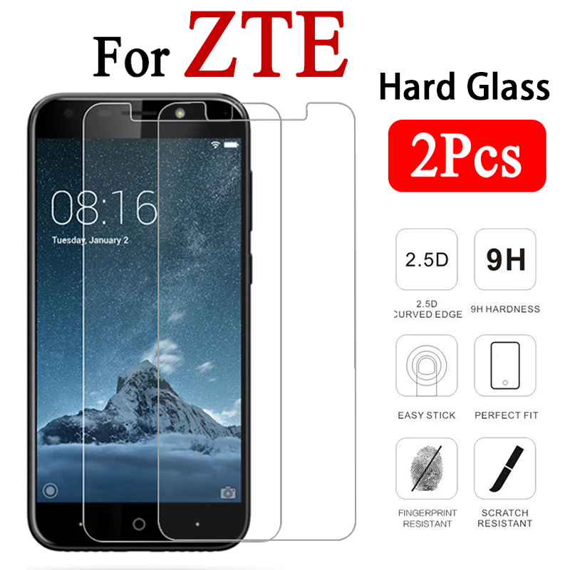 2 PieceS Protective Glass For ZTE Blade L5 Plus L110 L2 L3 A6 A610 A510 A512 A520 A452 A3 A5 HD Tempered Glass Screen Protector