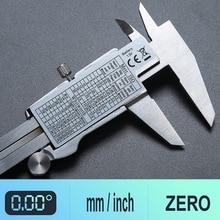 цена на Mini 0-150mm Metal Micrometer Measuring tool caliper Gauges  Digital caliper Stainless Steel Electronic Digital Vernier Calipers