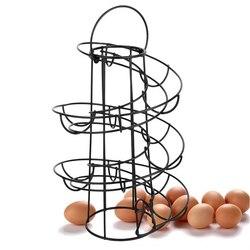 Egg Skelter Holder Rack Organiser Dispenser 24 Eggs Kitchen Countertop