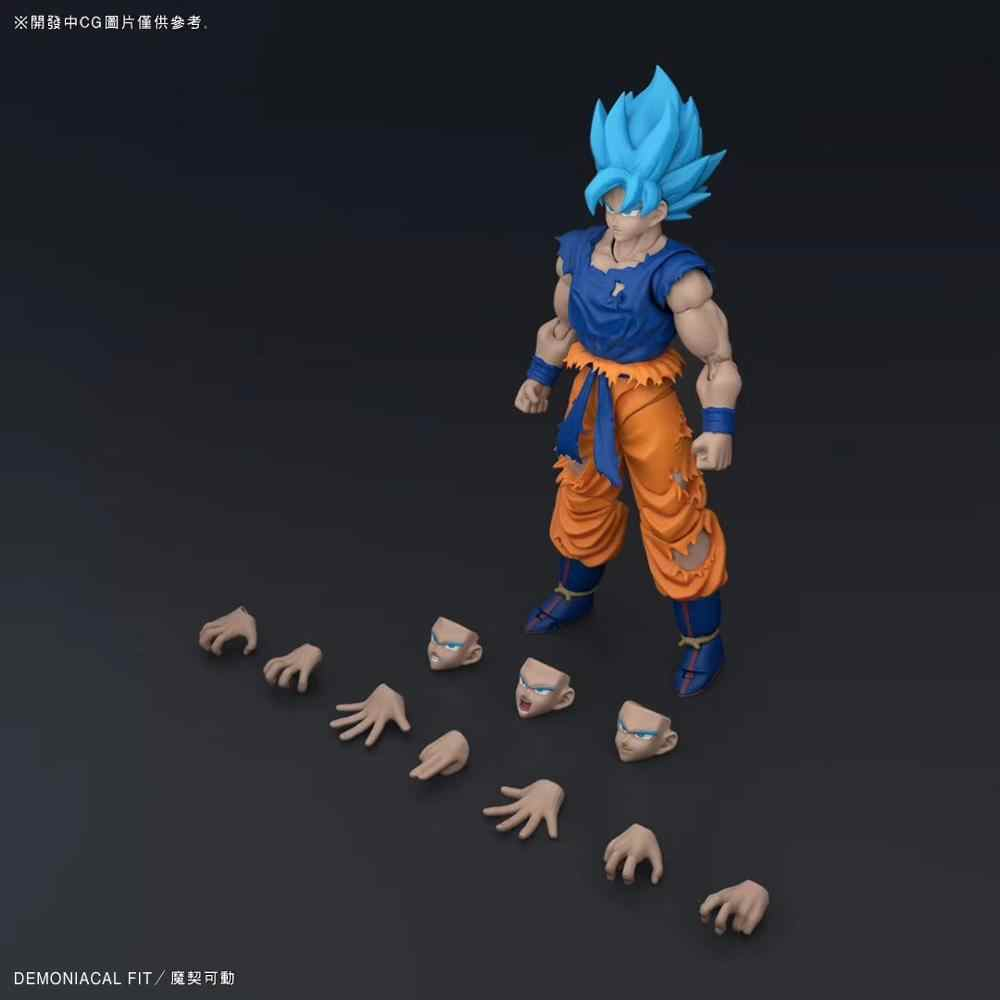 Presale Demoniacal Fit Z DBZ shf SSJ עיקש Martialist כחול גוקו פעולה איור Figurals Brinquedos