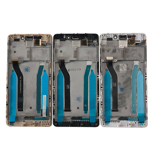 "Image 4 - 5.0 ""מקורי 10 מגע M & סן עבור Xiaomi Redmi 4 ראש ROM 32G LCD מסך תצוגה + מגע פנל digitizer מסגרת עבור Redmi 4 פרו"