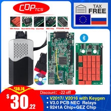 Cdp Tcs V3.0 Board OBD2 Auto Truck Tcs Cdp Tcs Pro Nec Relais Bluetooth Obd Ii Scanner 2016.00 Keygen Auto diagnostic Tool