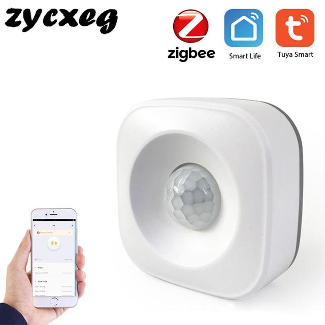 Tuya IFTTT Batterie Powered Smart ZigBee PIR Motion Sensor Detektor Home Alarm System arbeitet mit Mini ZigBee Hub