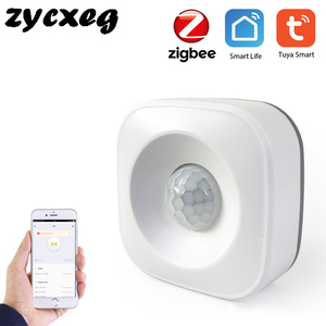 Image 1 - Tuya IFTTT Battery Powered Smart ZigBee PIR Motion Sensor Detector Home Alarm System works with Mini ZigBee Hub