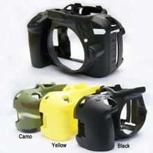 جراب كاميرا من السيليكون الناعم ، غطاء مطاطي لكاميرا نيكون D5100 D5200 D5300 D5500 D5600