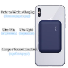 Bezprzewodowy Powerbank baterii etui ładujące dla IPhone X/XS/8/8 PLUS samsung s9/s9 + Huawei mate RS P20 Xiaomi MI9 ładowania bezprzewodowego