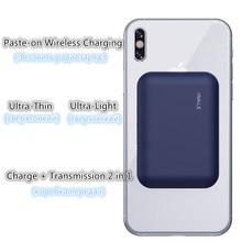 Kablosuz Güç Banka Pil Şarj iphone için kılıf X/XS/8/8 ARTı Samsung s9/s9 + Huawei Mate RS P20 Xiaomi MI9 Kablosuz Şarj