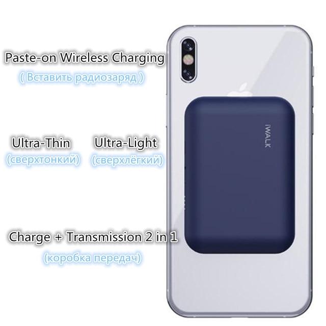 اللاسلكية تجدد Powerbank البطارية تهمة حقيبة لهاتف أي فون X/XS/8/8 زائد Sumsung s9/s9 + هواوي زميله RS P20 Xiaomi MI9 الشحن اللاسلكي