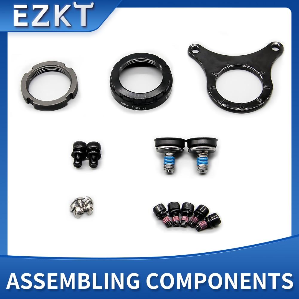 BAFANG BBS01 BBS02 BBSHD Assembling Components Mountain Bike Plate Installation Parts For Bafang Mid Motor Conversion Kit
