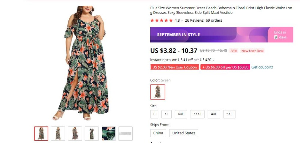 H3aa9553fdf57451eaccba3bc2c74188ew Bohemian Floral Print Long Dress For Women Plus Size Sexy Deep V Neck High Waist Bandage Bow Tie Maxi Sundress Pleated Vestidos