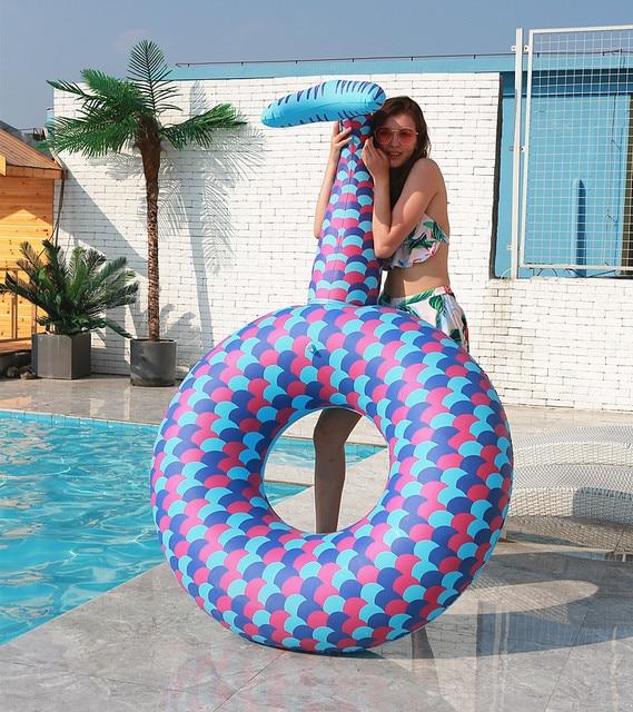 flotador para playa y piscina de sirena