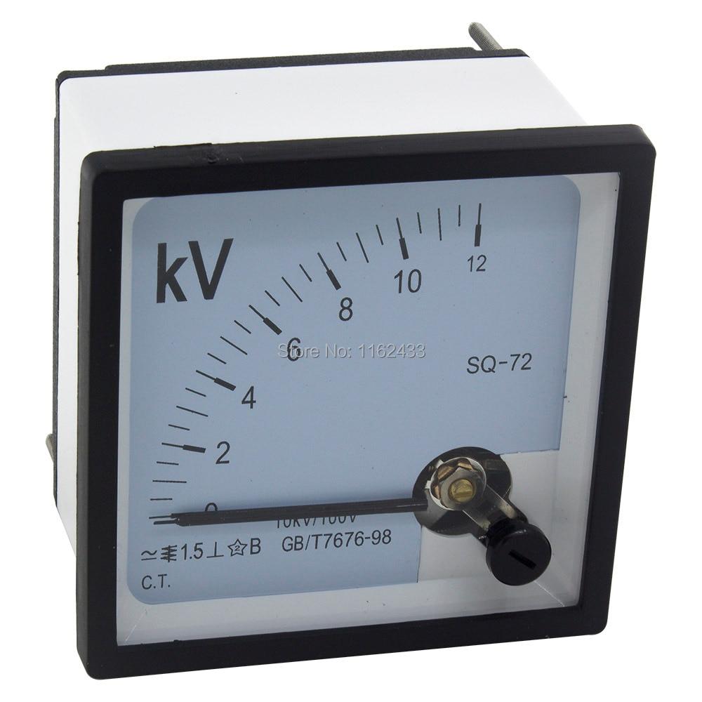 1Pcs 44C2 Analog Voltmeter DC 0-3V Measuring Range Voltage Meter