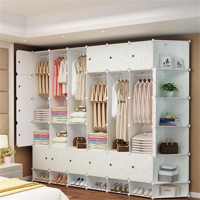 Wardrobe Credenza Storage Cabinet 3