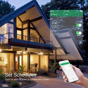 Image 3 - Умный настенный сенсорный выключатель света с Wi Fi, дистанционное управление через приложение по стандарту ЕС/Великобритании/США, работает с Amazon Alexa и Google Home