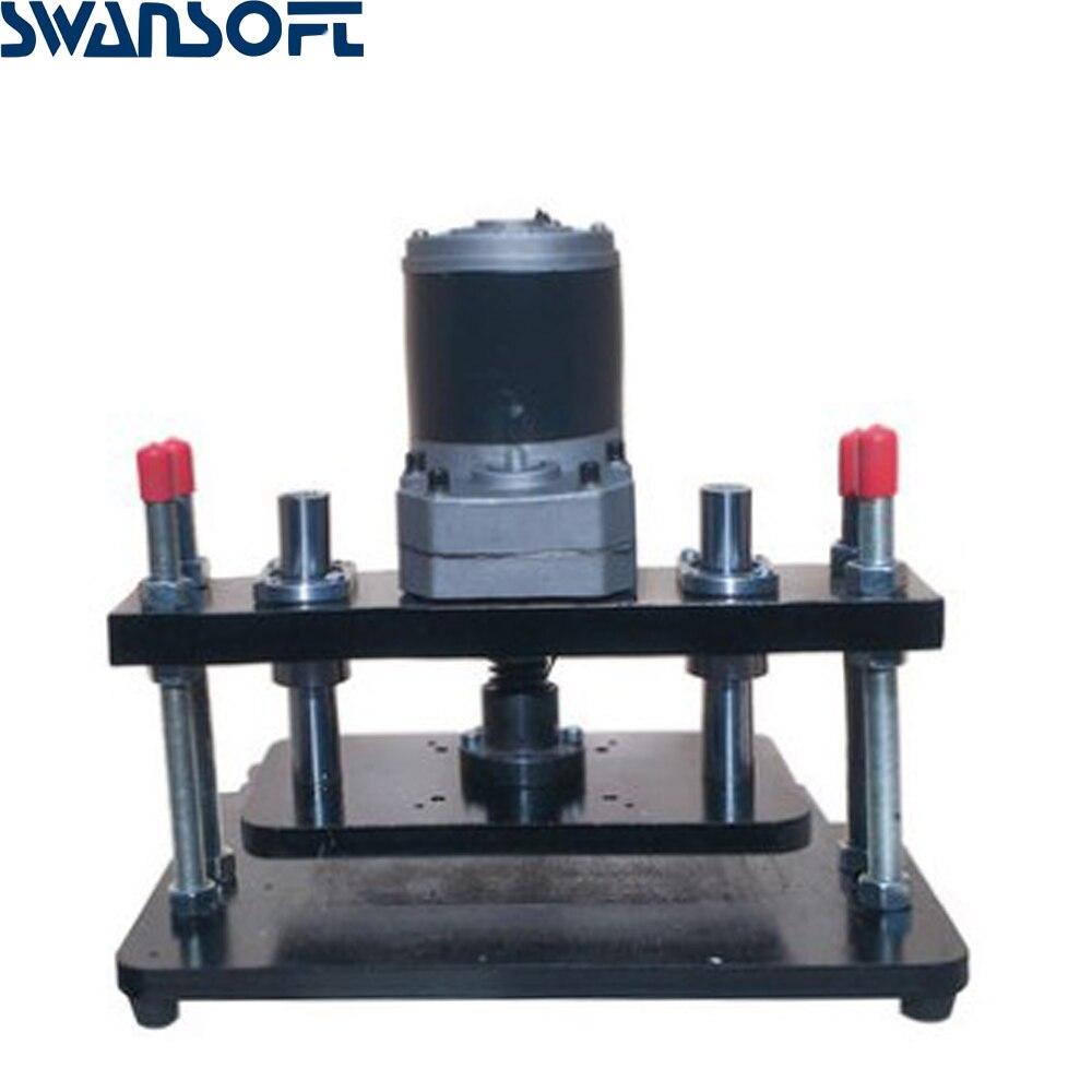 Petite machine de poinçonnage plate électrique de presse de coupeur de matrice coupant la machine à bière manuelle en cuir aplatissant la machine