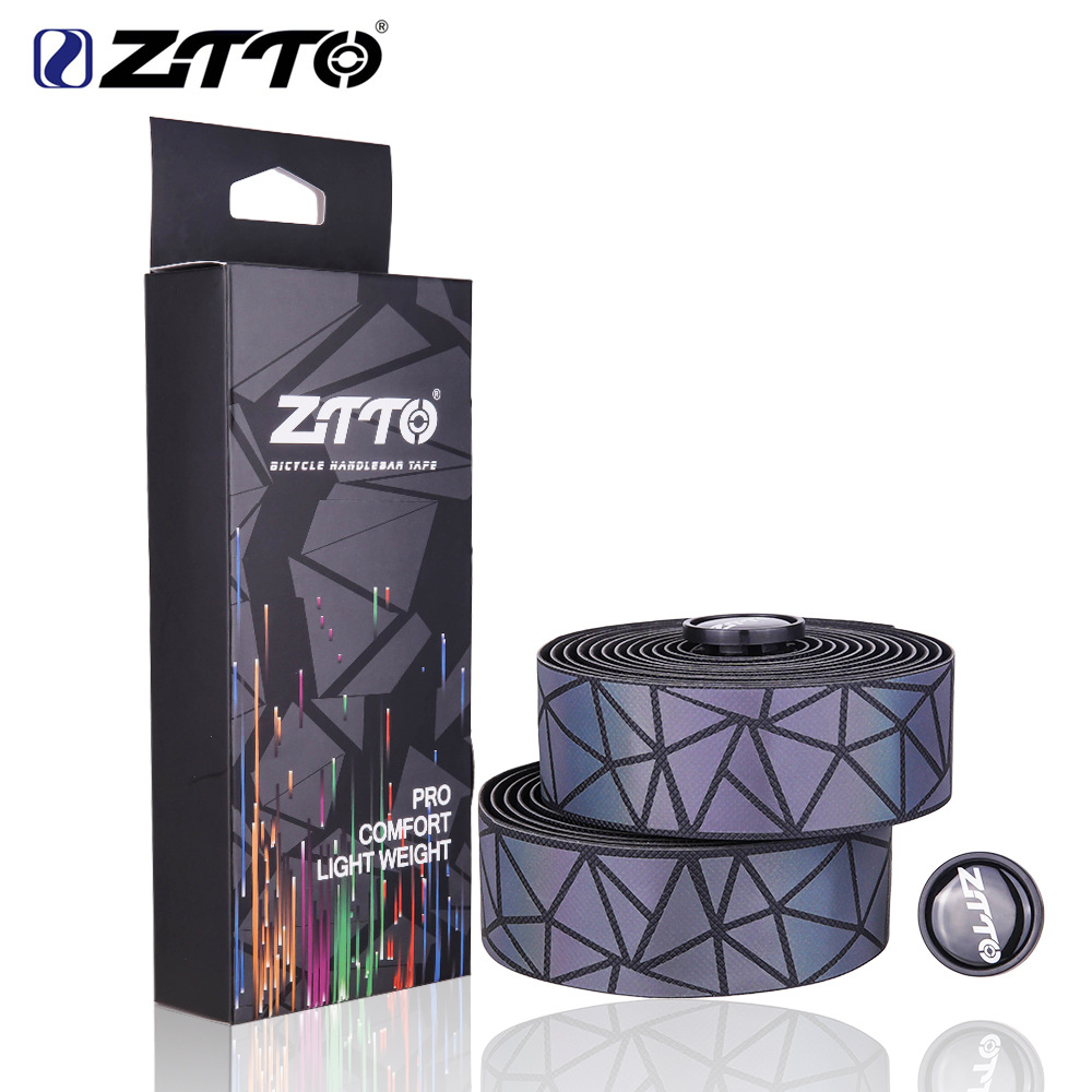 Details about  /1 Pair ZTTO Bicycle Bar Tape Road Bike Straps Non-slip Carbon Handlebar Belt