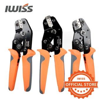 цена на IWISS SN Series Ratchet Crimping tool  Dupont XH2.54 ,PH2.0,2510 terminal Crimping Pliers Electrical tools SN-11011/02C/28B/48B
