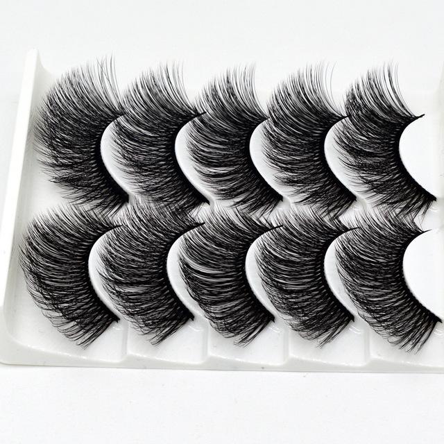 3D false eyelashes handmade