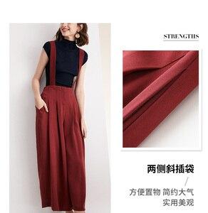 Image 3 - Nuova cinghia di stile delle donne allentate pantaloni casual versione Coreana delle donne di spettacolo cinghia sottile pantaloni staccabili