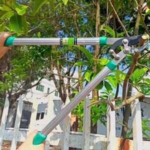 Image 5 - RDDSPON tijeras de podar para jardín, herramientas de jardín, ahorro de trabajo, ramas fuertes SK5, mango largo, cuchilla reemplazable, afilada, duradera, muy ligera