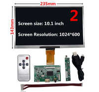 Pantalla LCD de 7/8/9/10.1 TTL, controlador de Audio HDMI, placa controladora para Lattepanda, Raspberry Pi, Banana Pi