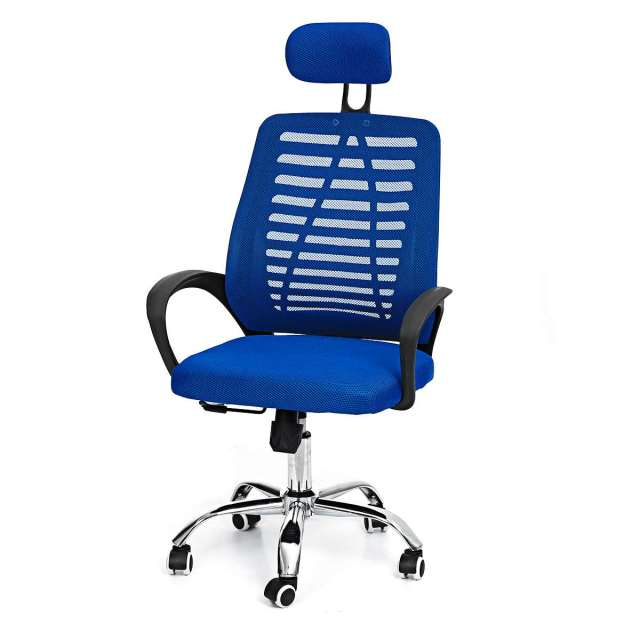 Office Chair Swivel Gaming Chair Adjustable Height Rotating Lift Chair Ergonomic Desk Computer Chair Armchair Recliner Home 2
