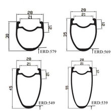 700C carbon road rims 28mm width 30mm 35mm 40mm 45mm 50mm 55mm depth carbon rims clincher compatible tubeless ultralight rim