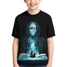 Adolescente impressão 3d harry estilos camiseta crianças meninos roupas anime dos desenhos animados camiseta crianças verão roupas diversão casual topo