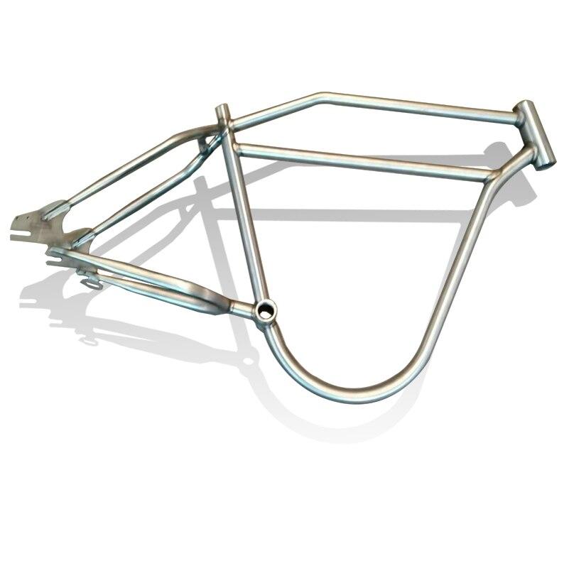 Snow Bicycle Frame Steel Frame Fuel Bicycle Frame 26*4.0WHEEL SET Frame Bicycle Accessories