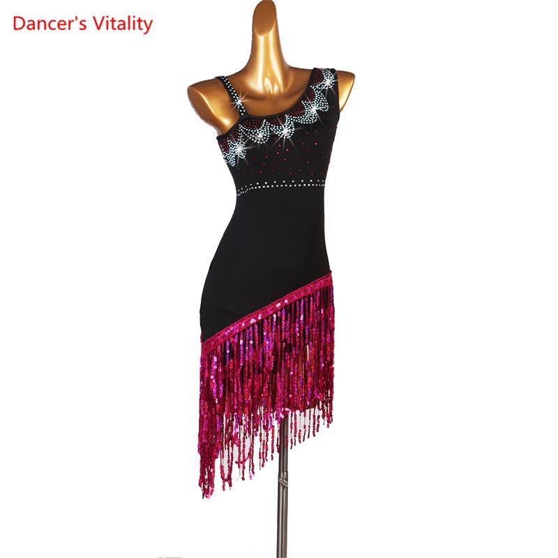 Professional Customization Latin Dance Costumes For Women Latin Ballroom Dress Latin Dance Competition Costumes