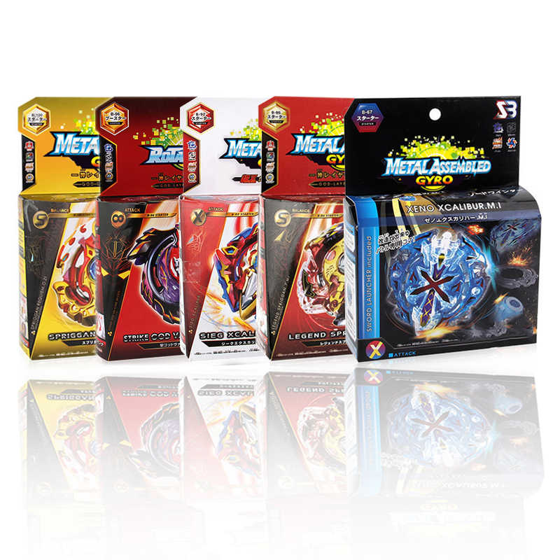 Bey Battle Blade Jongen Speelgoed Blade Burst Gt Gyro Launcher Christmas Gift Kinderen Speelgoed Set Spinning Tops Toupie Metal Fusion evolution