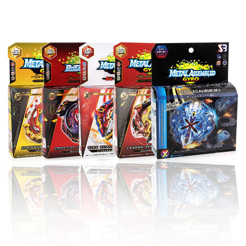 Bey Battle Blade Boy Toy Blade Burst GT Gyro Launcher Christmas Gift Kids Toys Set Spinning Tops Toupie Metal Fusion Evolution
