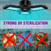 Lampe désinfectante UV bactérienne E27, 40W, 60W, 80W, lumière germicide, UVC, stérilisateur, lampe d'ozone, 220-110V