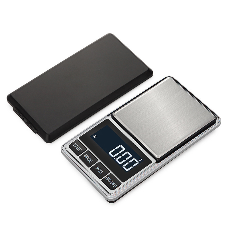 100g/200g/300/500g 0.01g jewelry Scale Electronic Digital High precision Portable Weighs Scales Balance Weight LCD display